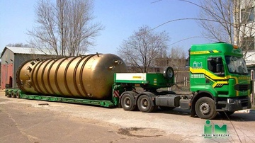 Transportation of oversized and heavy cargoes